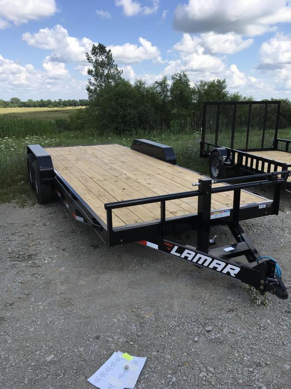 2017 Lamar equipment hauler