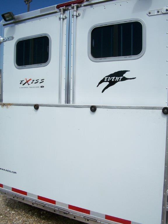 Used 2005 Exiss Horse Trailer In Pilot Point Tx