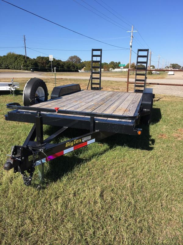 2014 Big Tex 16' Flatbed Trailer