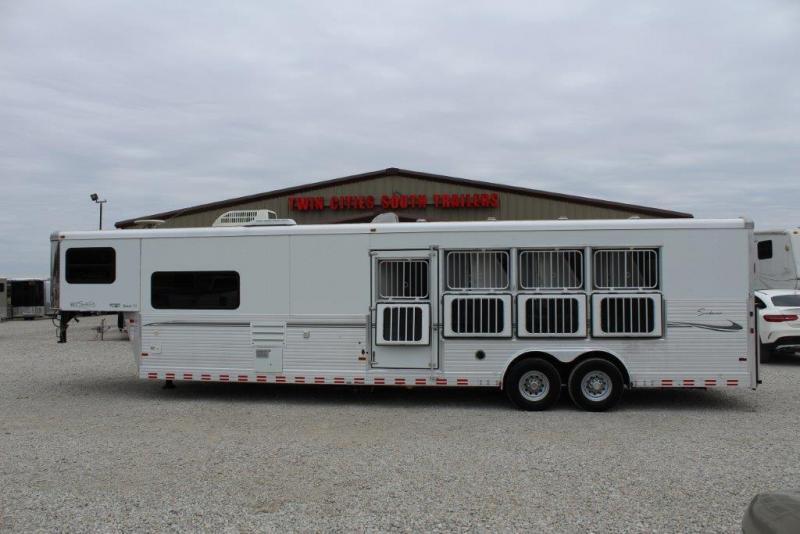 2007 Sundowner 4 horse with 12' Living Quarter