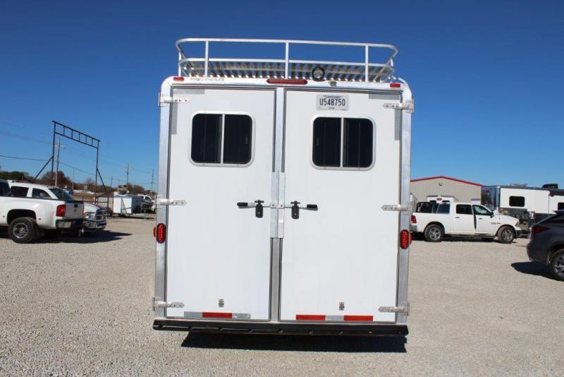 2003 Featherlite 3 horse with 13' LQ