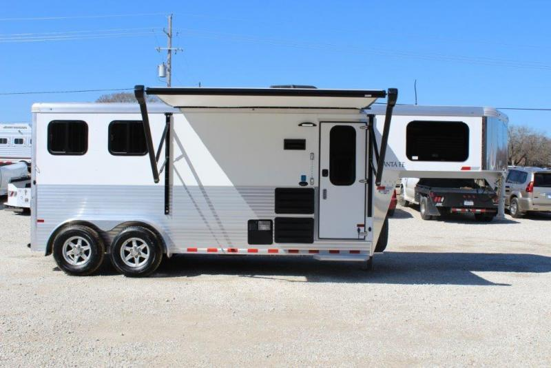 2018 Sundowner 2 horse with 6' LQ