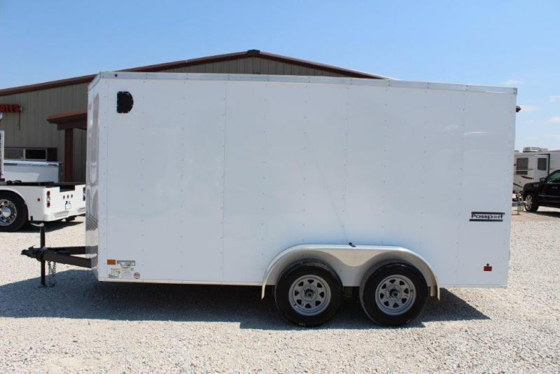 2018 Haulmark Enclosed 7x14 trailer