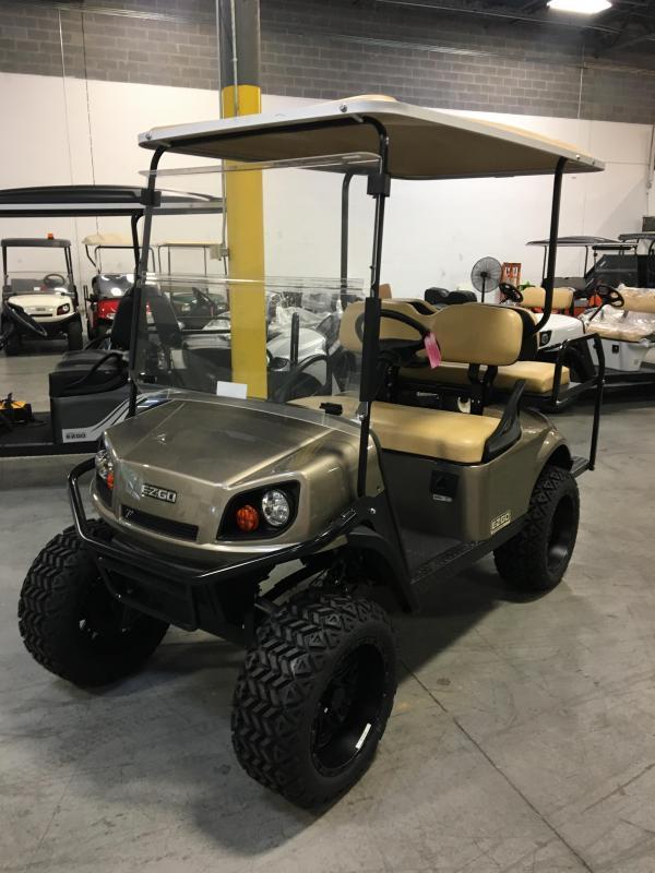 2018 E-Z-Go Express S4 Golf Cart