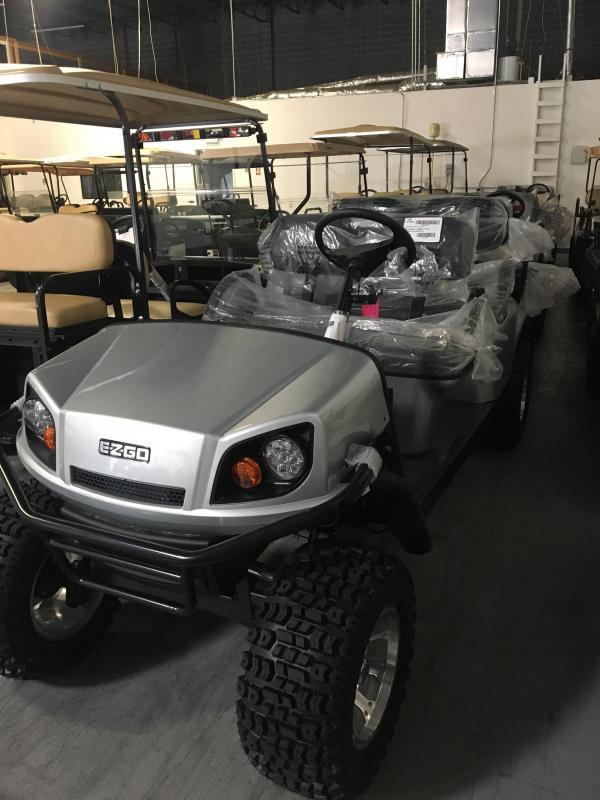 2017 E-Z-Go Express L6 (Gas) Golf Cart