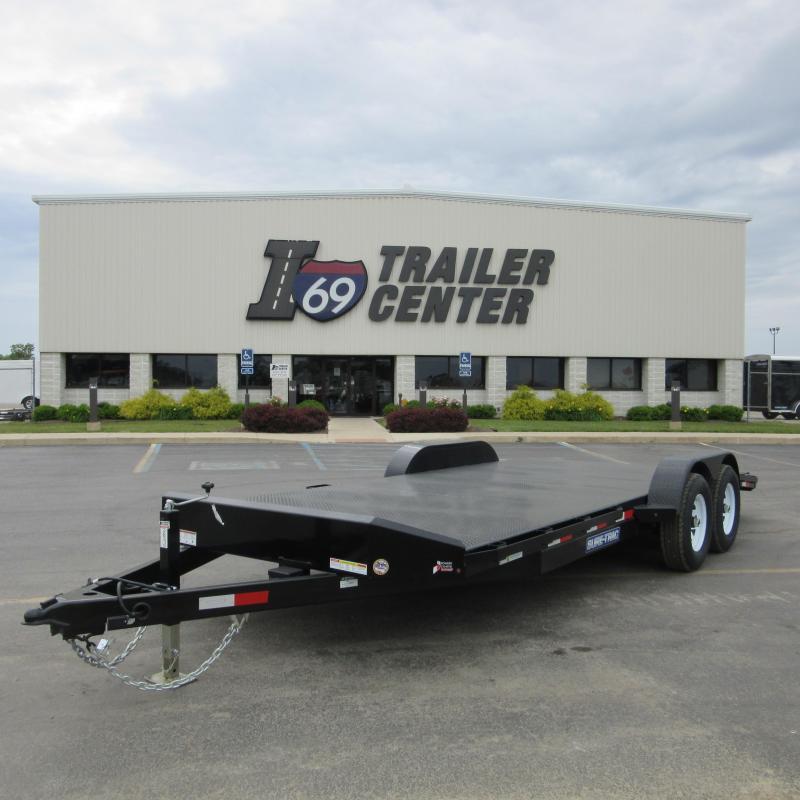 2017 Sure-Trac steel deck car hauler