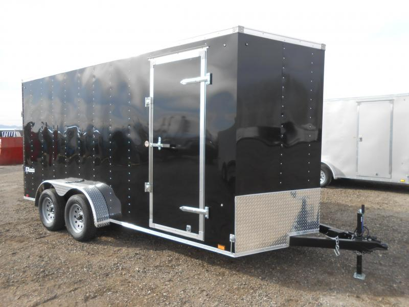 2019 Cargo Express EX7X16TE2-V-RD Enclosed Cargo Trailer