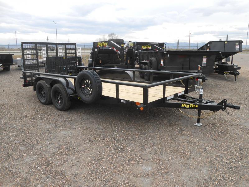 2019 Big Tex Trailers 70PI-16X Utility Trailer