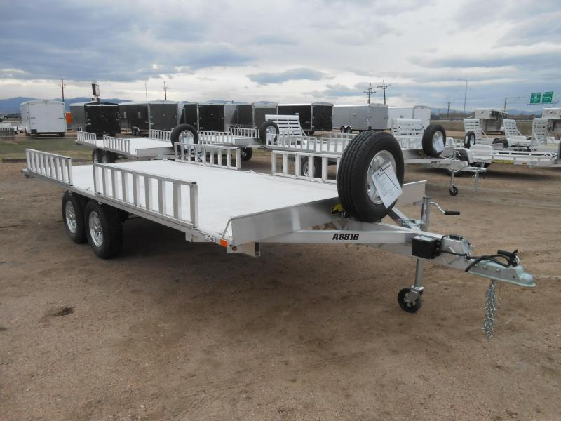 2020 Aluma A8816 All Aluminum 4-Place ATV Trailer