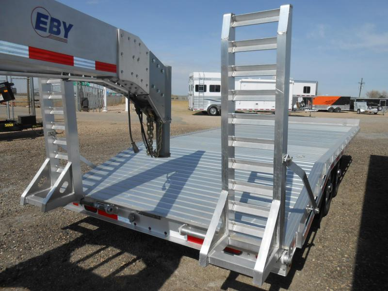 2017 Eby Trailers 20ft Aluminum Deck Over 10k Flatbed