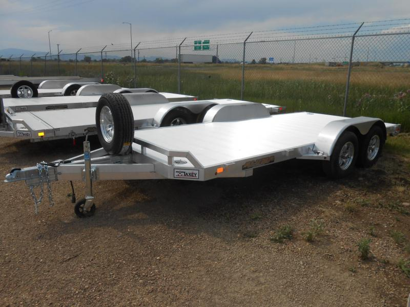2019 Aluma 8216 All Aluminum Car / Racing Trailer