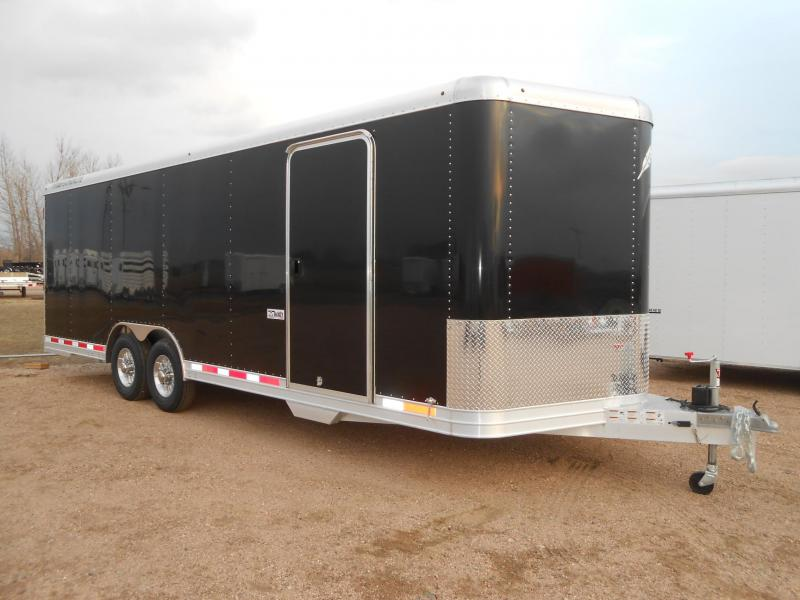 2019 Featherlite 4926-24 All Aluminum Enclosed Car / Racing Trailer