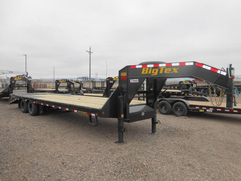 2020 Big Tex Trailers 25GN-25-5MR Flatbed Trailer