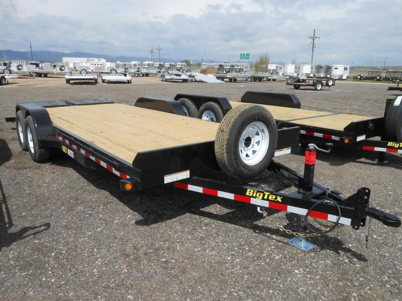 2017 Big Tex Trailers 10ET-20MR Equipment Trailer w/ Mega Ramps