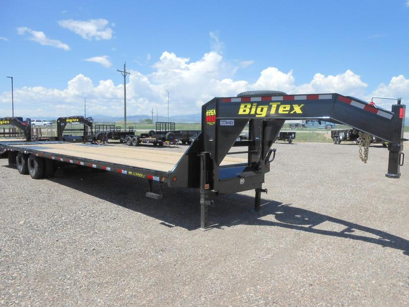 2020 Big Tex Trailers 22GN-25-5MR Flatbed Trailer