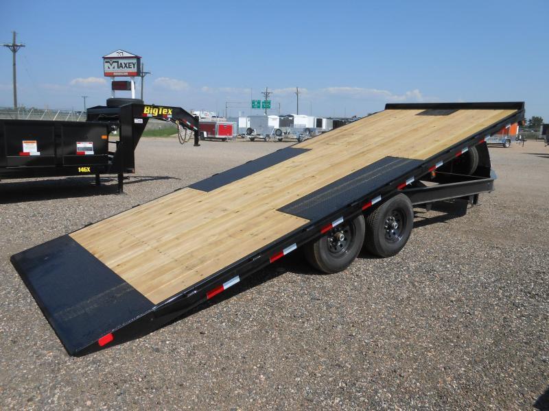 2019 Big Tex Trailers 14OT-22 Deck-Over Power Tilt Flatbed Trailer