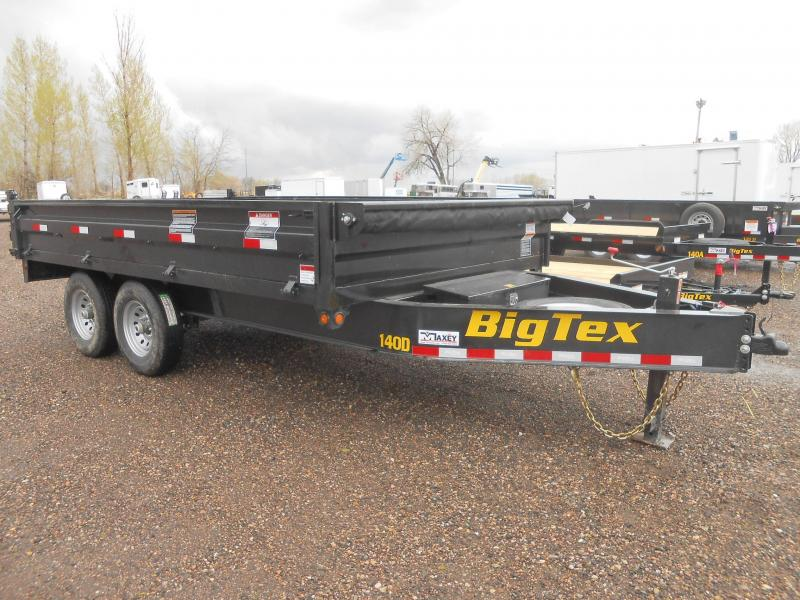 2020 Big Tex Trailers 14OD-14 Deck-Over Dump Trailer