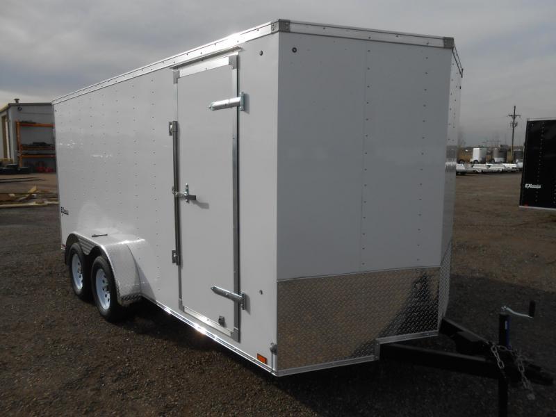 2019 Cargo Express EX7X16TE2-V-DBL DRS Enclosed Cargo Trailer