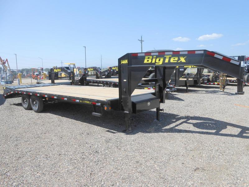 2020 Big Tex Trailers 14GN-20-5MR Flatbed Trailer