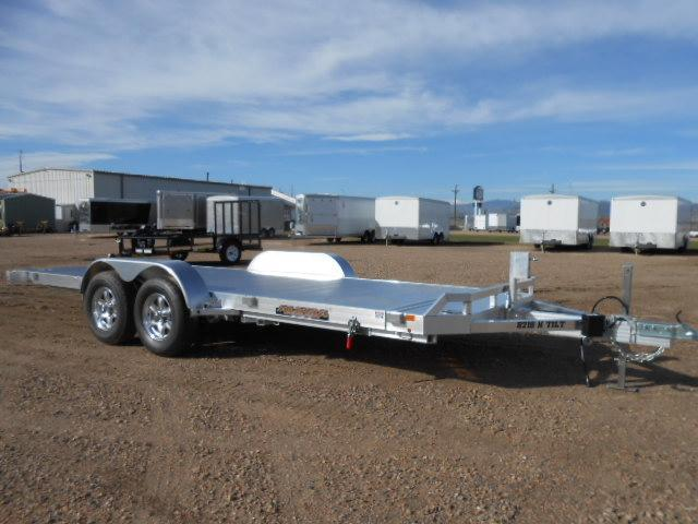 2020 Aluma 8218H-TILT Aluminum Tilt Deck Car / Racing Trailer