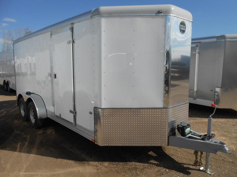 2017 Wells Cargo CW1622-V-RD Enclosed Cargo Trailer