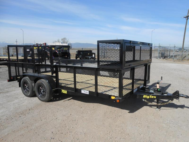 2019 Big Tex Trailers 70LR-16 Landscaping / Utility Trailer