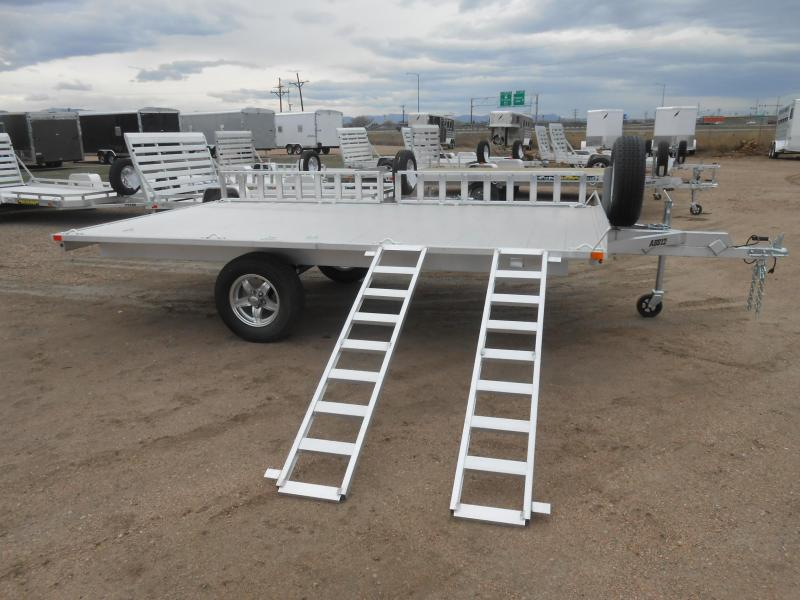 2019 Aluma A8812 All Aluminum 3-Place ATV Trailer