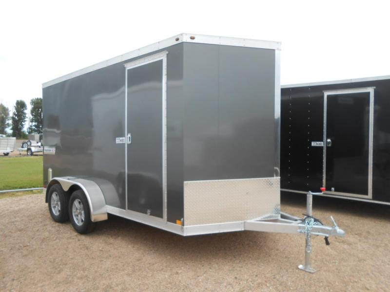 2019 Cargo Express HAUV7X14WT2-RD All Aluminum Enclosed Cargo Trailer