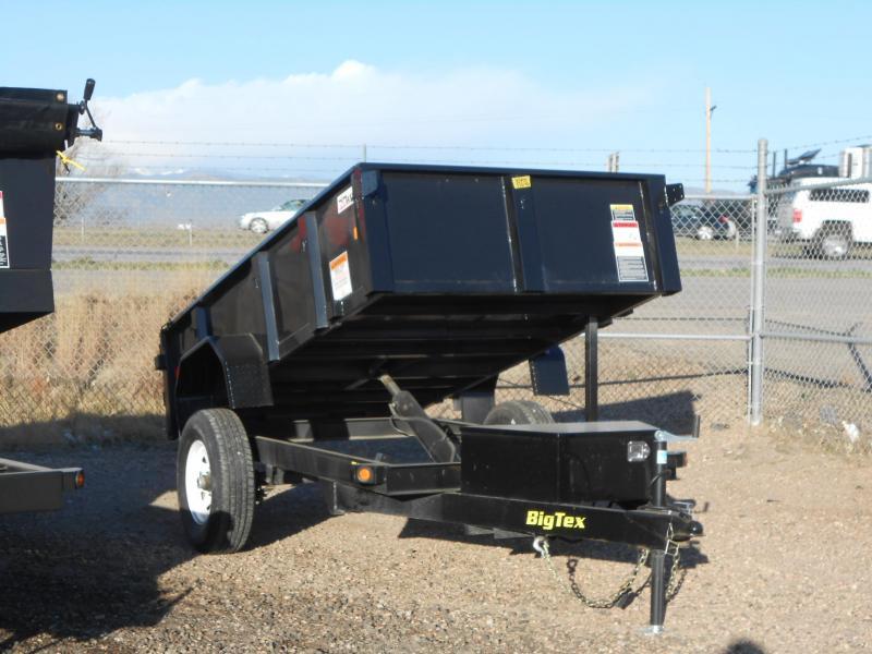 2017 Big Tex Trailers 50SR-10-5WDD Dump Trailer
