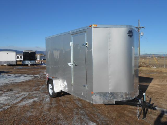 2018 Wells Cargo FT6121-RD Enclosed Cargo Trailer