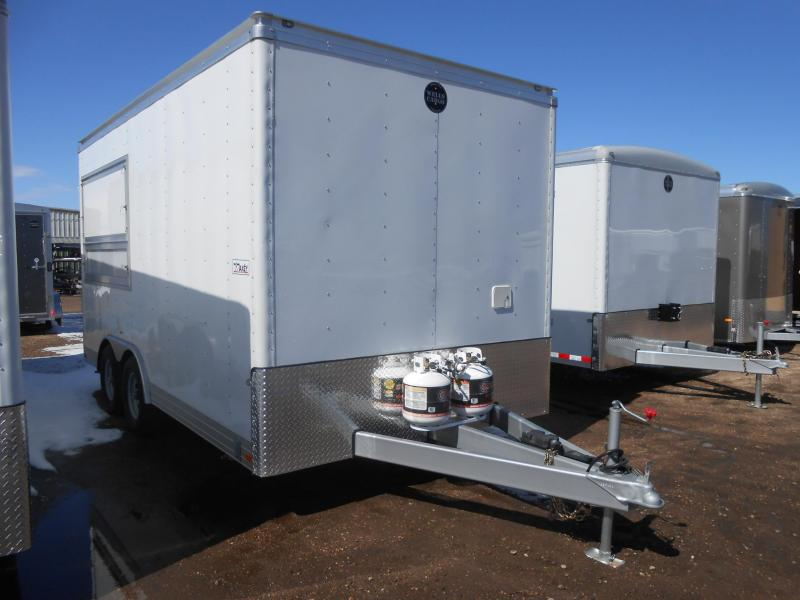 2015 Wells Cargo CEW162W-FR Vending / Concession Trailer