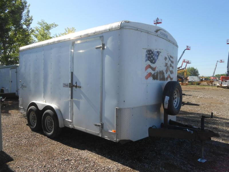 2006 Mirage Trailers XTERA M814TA3-DBL DRS Enclosed Cargo Trailer