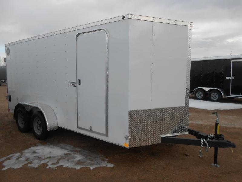 2018 Wells Cargo WCVG716T-DBL DRS Enclosed Cargo Trailer