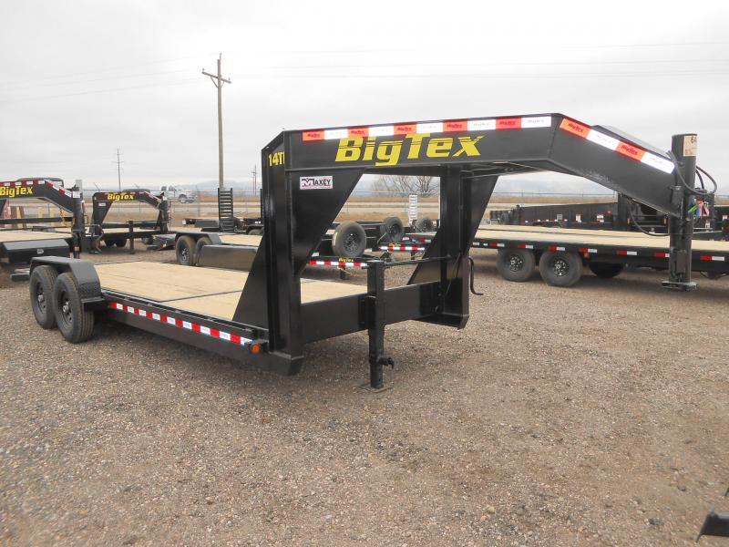 2020 Big Tex Trailers 14TL-22GN Equipment Trailer