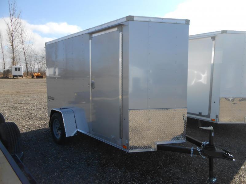 2019 Cargo Express EX6X12S12-V-DBL DRS Enclosed Cargo Trailer