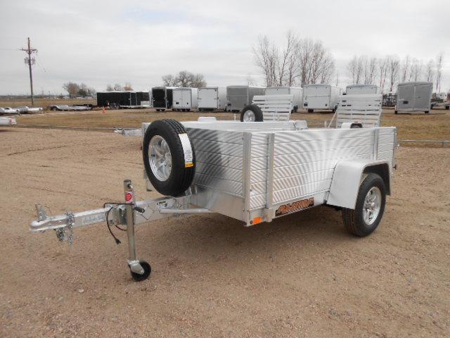 2019 Aluma 548BT All Aluminum Utility Trailer w/ Solid Sides
