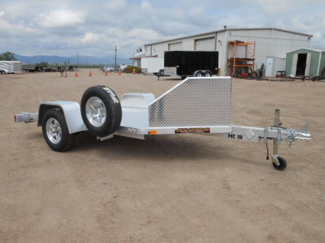 2020 Aluma MC10 All Aluminum Single Place Motorcycle Trailer