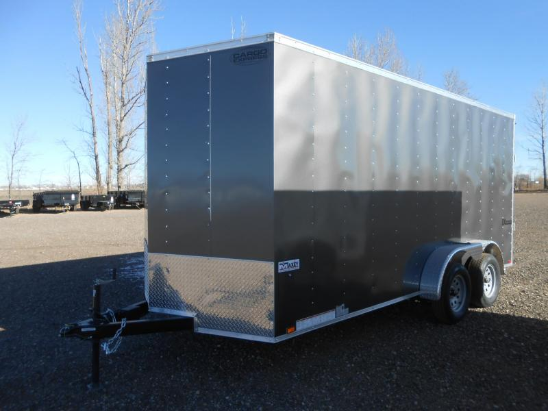 2018 Cargo Express EX7X16TE2-V-RD Enclosed Cargo Trailer