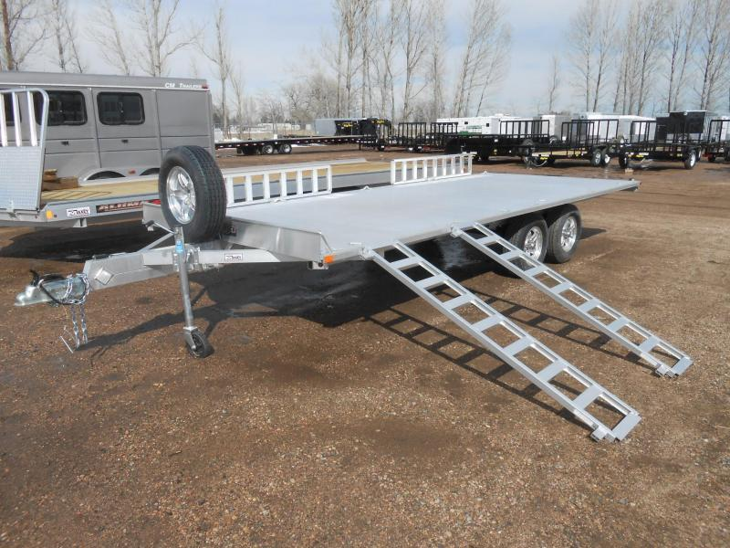 2020 Aluma A8818 All Aluminum 4-Place ATV Trailer