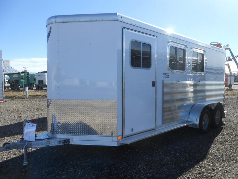 "2018 Featherlite 9409-2H Horse Trailer w/ 52"" Dressing Room"