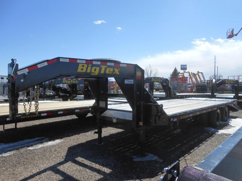 2020 Big Tex Trailers 22GN-20+5MR Flatbed Trailer