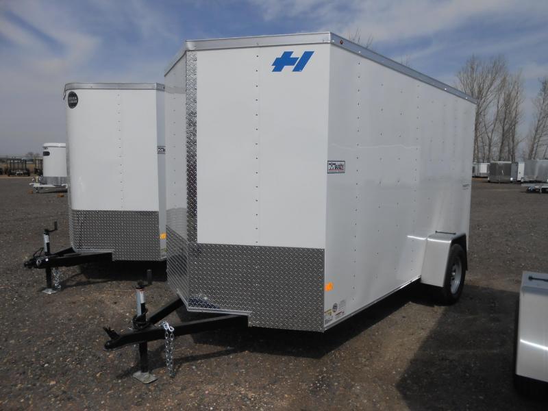 2017 Haulmark 6X12 Thrifty Hauler Enclosed Cargo Trailer