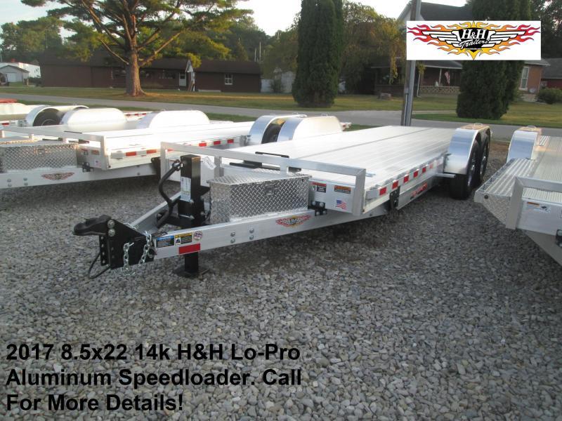 2017 8.5x22 14k H&H Lo-Pro Aluminum Speedloader. 76425
