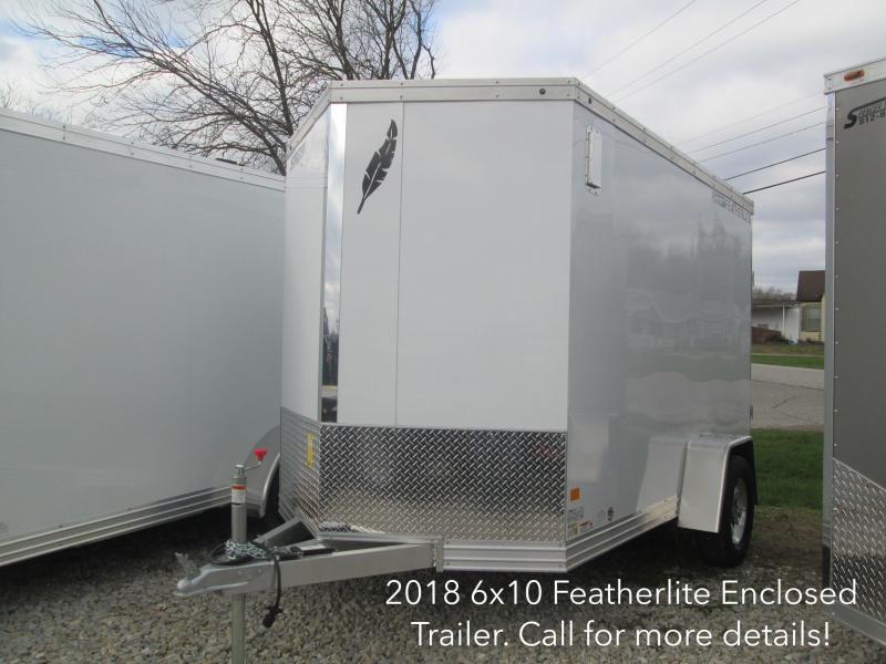 2018 6x10 Featherlite Enclosed Trailer. 147702