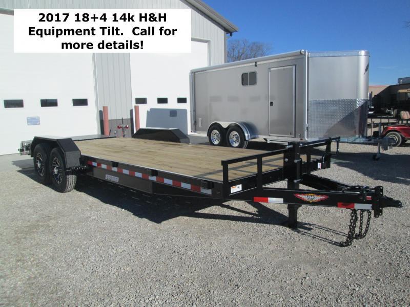 2017 8.5x18+4 14k H&H Equipment Tilt. 67354