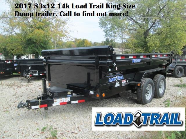 2017 83x12 14k Load Trail King Size Dump. 21236