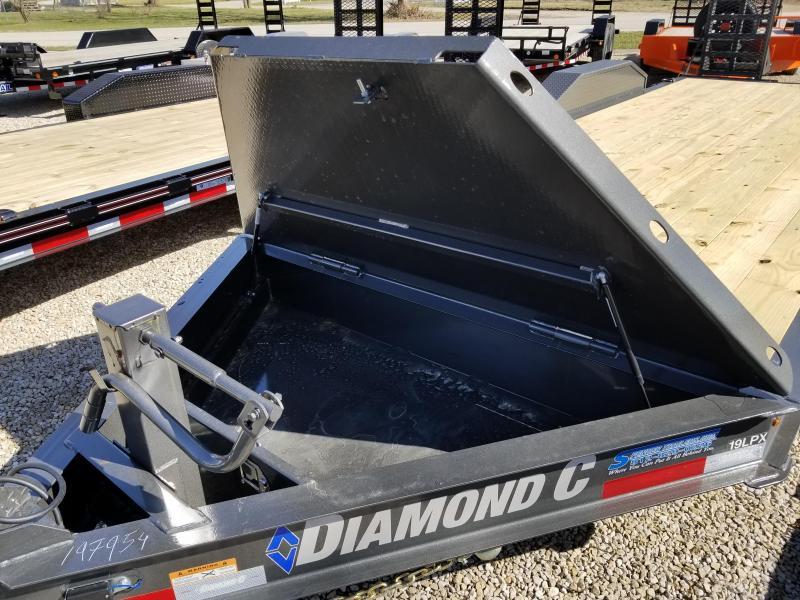 "2018 18'+2'x82"" 14.9k Diamond C Equipment Trailer. 97954"