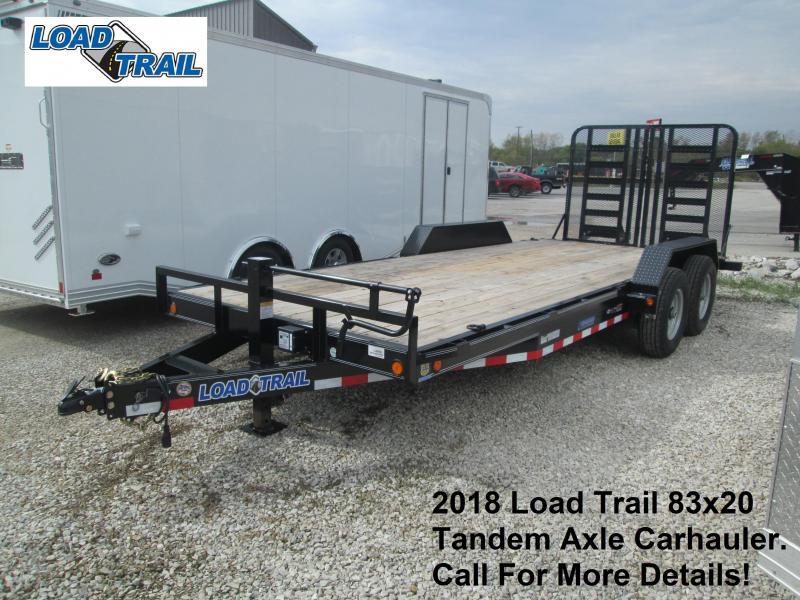 2018 Load Trail 83x20 Tandem Axle Carhauler 44858 Spencer