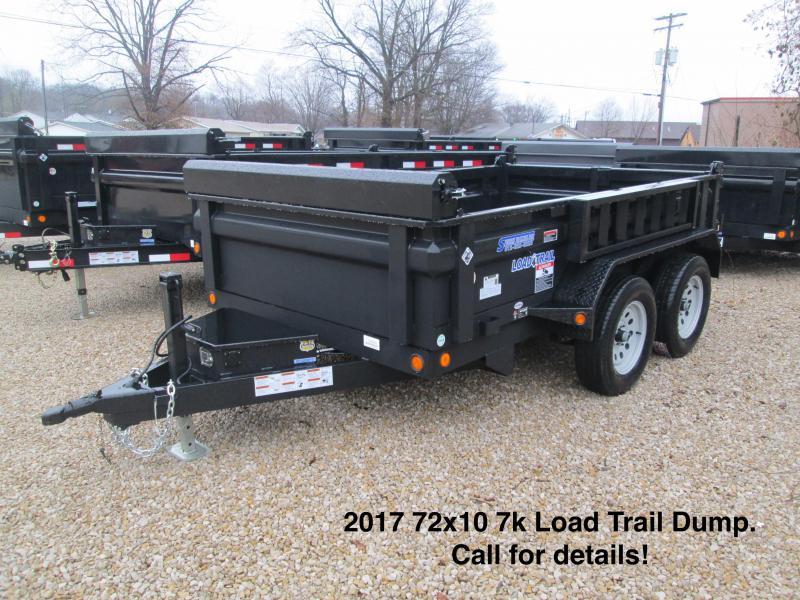 2017 72x10 10k Load Trail Dump.  26999