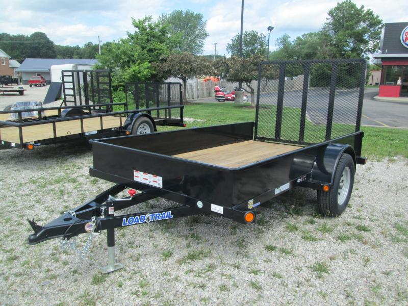 """2017 66""""x10' Solid Sided Load Trail Utility Trailer. 41780"""